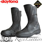 DAYTONA NONSTOP GTX GORETEX WATERPROOF MOTORCYCLE MOTORBIKE BIKE BOOTS