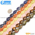 """Natural 13x18mm Assorted Stones Drip Beads For Jewelry Making Free Shipping 15"""""""
