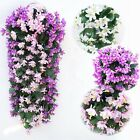 Artifical Lily Bracketplant Hanging Garland Flowers Vine Wedding Home Decor