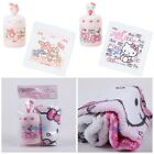 JAPAN SANRIO HELLO KITTY MY MELOD COTTON FACE TOWEL SET WITH 3D BOX