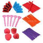 12pcs Women Girls Strawberry Balls Hair Care Soft Sponge Rollers Curlers Tool