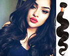 US Local New Black Body Wave Real Human Hair Extensions 1/2/3Bundles Hair Wefts