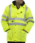 B-Seen Elsener 7 In 1 Hi Vis Waterproof Jacket. En471 & En473 - 7In1