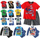 Boys Pyjama Set Kids Pjs Night Character New Disney Spiderman Age 4 - 12 Years