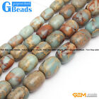 Column Gemstone Shoushan Stone DIY JewelryCrafts Making Loose beads strand 15""