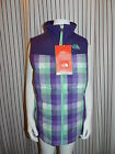 NWT The North Face Dandie Down Vest Girl's Sz MED Green $90