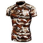 Take Five 063 Mens Skin Tight Compression Base Layer Military Short Sleeve Shirt