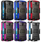 RUGGED HYBRID CASE HARD BELT CLIP HOLSTER COVER FOR Alcatel One Touch Pop Astro