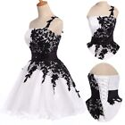 Vintage 50 Lace Short Evening Prom Swing Vintage Cocktail Party Dress