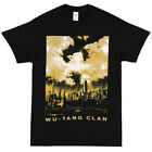 Wu-Tang Clan New York Photo Cloud Logo Licensed Adult T-Shirt - Black