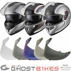 Black Optimus SV Element Flip Front Helmet Motorcycle Inner Sun Visor Tinted Kit