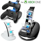LED Light Dual Controller Charging Dock Station Charger for Xbox One/Xbox One S