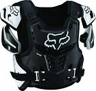 Fox Racing Adult Black White Raptor CE Dirt Bike Roost Chest Guard MX ATV 2016