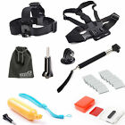 EEEKit 9in1 Accessories Head/Chest Belt+Floaty Grip Set for Gopro HD Hero 4/3+