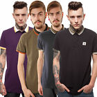 Mens FLY53 Knockout Polo Neck T-Shirt Top S M L XL XXL
