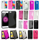 Brand New S-Line Wave Silicone Gel Back Skin Case Cover For Various Mobile Phone