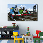Thomas And Friends Stretched Canvas Print Framed Kids Nursery Wall Art Painting