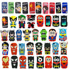 3D Cute Cartoon Super Hero Soft Silicone Back Cover Case For iPhone 4G 5S 6 Plus