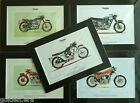 "TRIUMPH MOTORBIKE ART PRINTS - In black mount to fit frame size 40x30cm (16x12"") €9.69 EUR on eBay"
