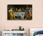 Star Wars Last Supper Stretched Canvas Print Framed Wall Art Kids Decor Painting