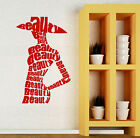 Beaty Salon Fashion Style Shop Wall Sticker Vinyl Decal (ig2118)