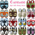 carozoo soft sole baby shoes toddler kids slippers animals up to 8 years