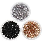 BMC Gorgeous Mixed Color Japanese Style 3D Nail Art Polish Round Pearls Bundle