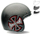 Bell Custom 500 SE Indy Open Face Scooter Helmet & Optional Fixed Visor Jet