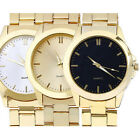 2015 Hot Luxury Watch Men Gold Classic Analog Quartz Stainless Steel Wrist Watch image