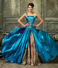 MAXI New Masquerade Long Wedding Formal Party Gown Prom Bridesmaid Evening Dress