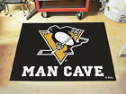 Pittsburgh Penguins Man Cave Area Rugs Choose from 4 Sizes