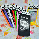 New Back Case Cover Skin for iPhone 4 4S Cute Cartoon Panda Bear Soft Silicone