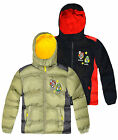 Boys Super Mario Bros Puffa Coat New Kids Hooded Padded Jackets Ages 3-8 Years