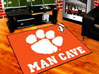 Clemson Tigers Man Cave Area Rug Choose Size Tailgate