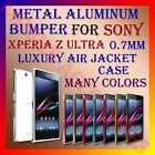 ACM-ALUMINUM BUMPER METAL CASE for SONY XPERIA Z ULTRA 0.7MM AIR JACKET FRAME