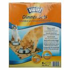 1  Pack SWIRL Dinner-Sets rutschfest und nässeabsorbierend - Dinner-Set - 8 Stk
