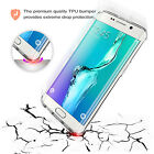 Thick Clear TPU Gel Transparent Case Cover For Samsung Galaxy S6 Edge Plus G9280