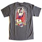 Lucky 13 men's t shirt Pin Up Girl Day of the Dead Sugar Skull Tattoo S-4XL