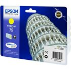 NEW GENUINE EPSON 79 TOWER OF PISA SERIES YELLOW INK CARTRIDGE (C13T79144010)