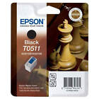GENUINE EPSON T0511 CHESS SERIES BLACK PRINTER INK CARTRIDGE (C13T051140)