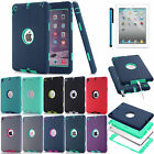Armour Hybrid Shockproof Rubber Case Cover Skin For Apple iPad Mini 1/2/3 Retina