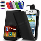 Leather Wallet Flip Case Cover For Samsung Galaxy Young S6310 Screen Protector