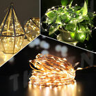 10M 100LED Mains Operated Warm White Wedding Party Centerpiece Fairy Light UK EU