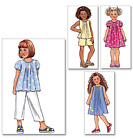 Butterick Fast & Easy Childrens/Girls Sewing Pattern 4176 Dress & Shorts