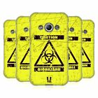 HEAD CASE HAZARD SYMBOLS SOFT GEL CASE FOR SAMSUNG GALAXY XCOVER 3