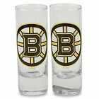 NHL Color Team Logo 2.5 Oz Cordial Shot Glass 2-Pack - Pick Your Team