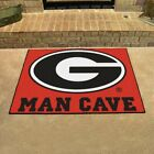 Georgia Bulldogs Man Cave Area Rug 4 Sizes to Choose