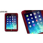 LOVE MEI Waterproof Shockproof Metal Gorilla Glass Case Cover For Apple iPad Air