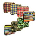 Canvas Fabric Laptop Sleeve Bag Case Cover for Apple Macbook / Laptops 11 12 13