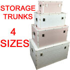 GIRLS TRUNK CHEST STORAGE POEM TOYS CLOTHES KEEPSAKE BOX BEDROOM TIDY KIDS BABY